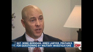 military law Bowe Bergdahl video